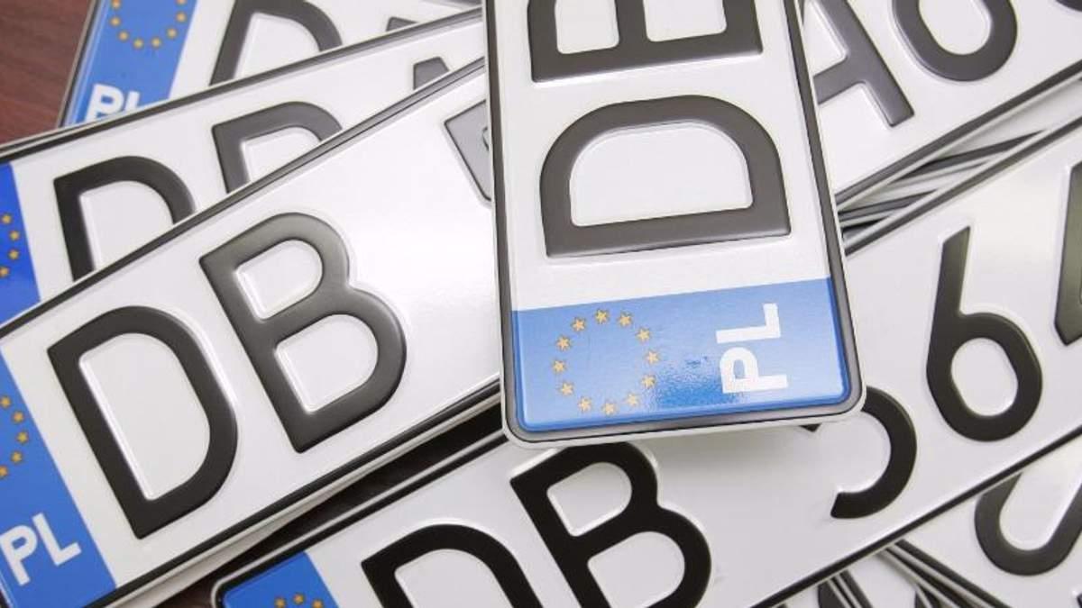 Автомобілі з іноземними номерами в Україні: як вирішити проблему