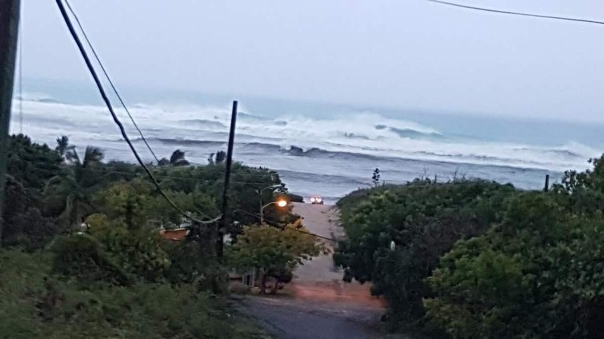 Видео и фото урагана Ирма в Сент-Мартен, Антигуа та Барбуда