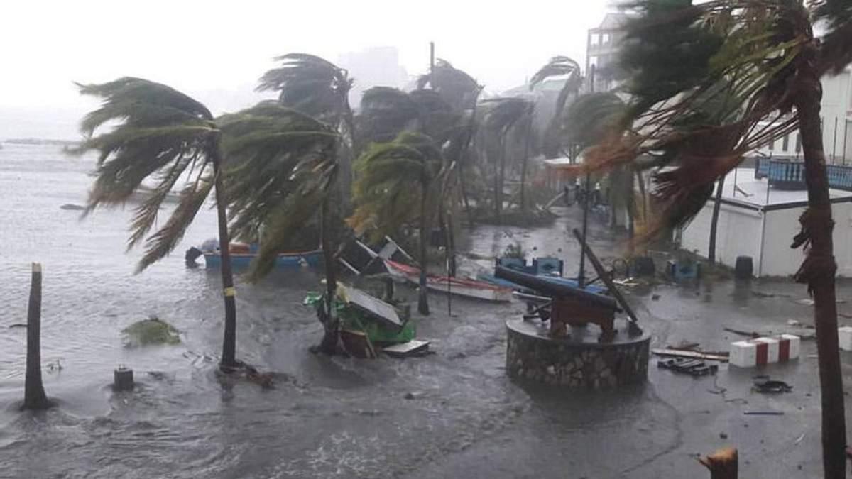 Ураган Ирма: прогноз относительно жертв урагана - Макрон