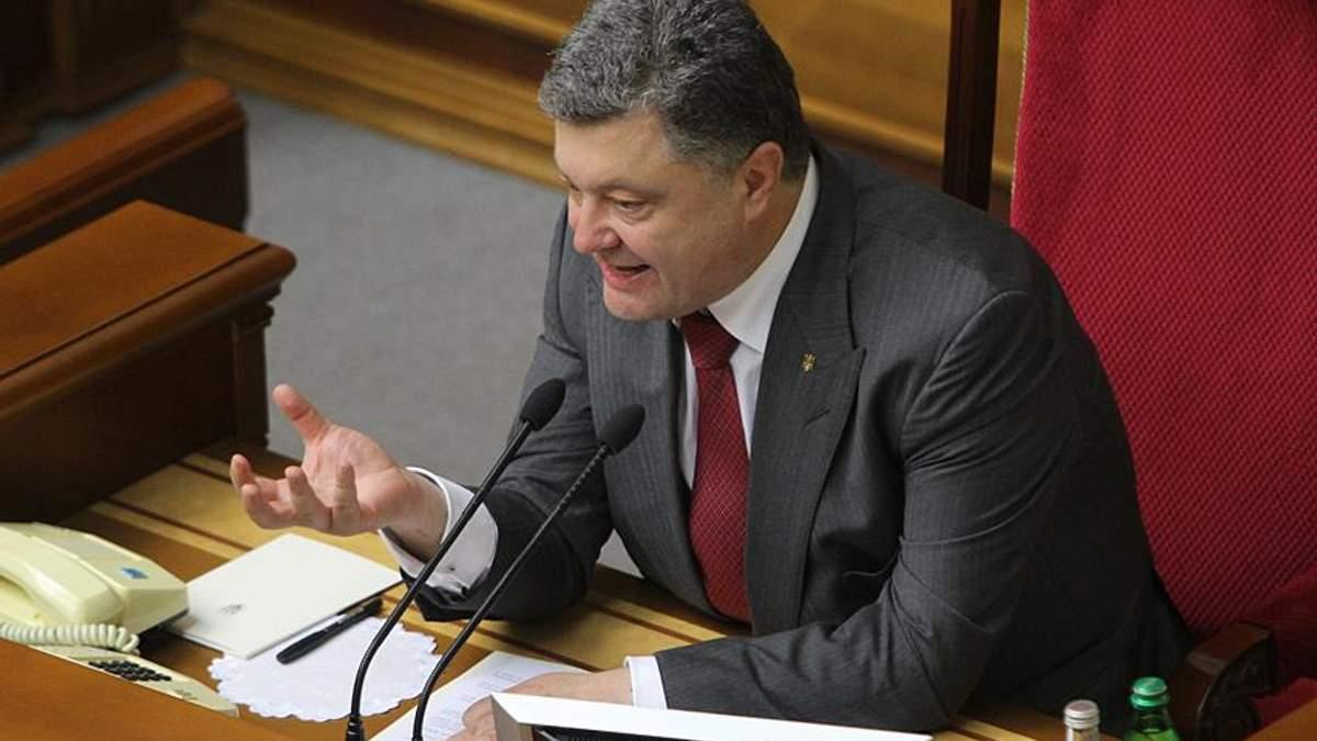 Порошенко назвав головну загрозу з боку Росії