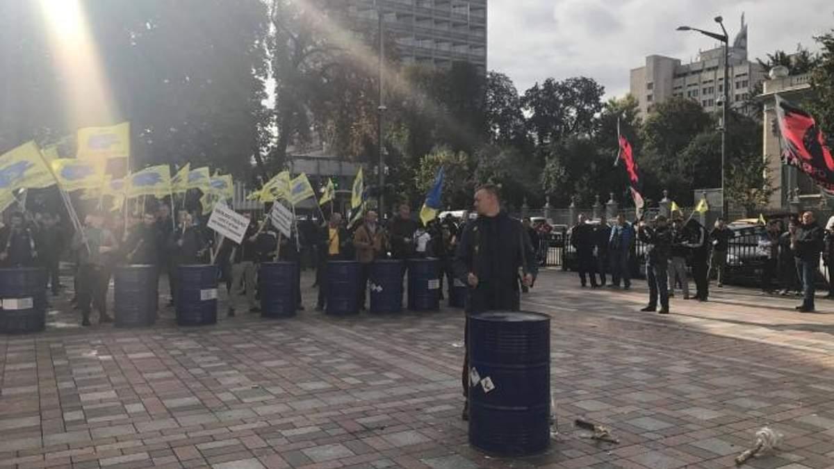 Автоевросила: протест автомобилистов в Киеве - фото