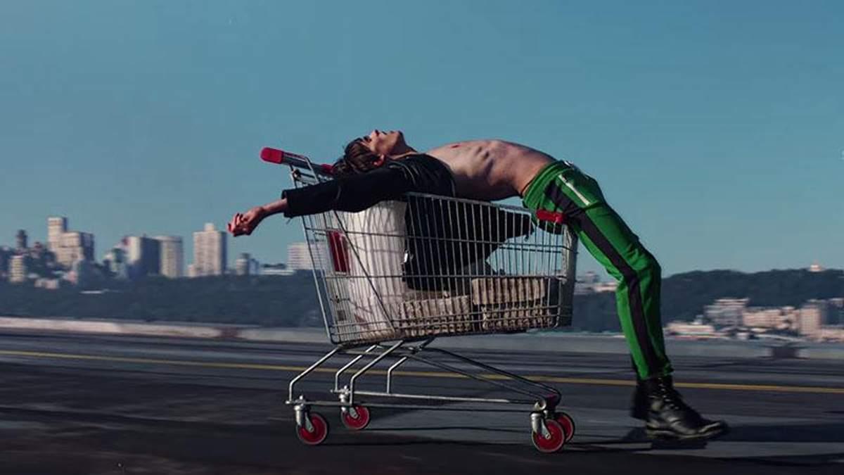 Итальянский бренд одежды снял рекламный ролик в Киеве: эффектное видео и фото