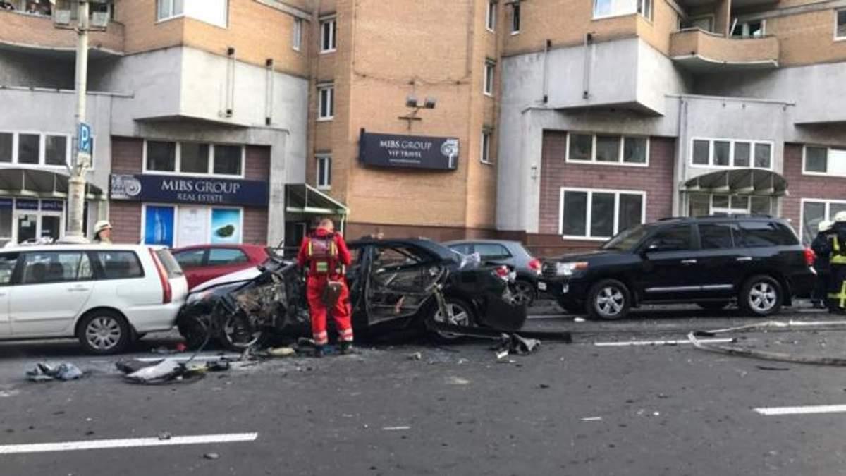У МВС розповіли деталі про загиблого внаслідок вибуху автомобіля в центрі Києва Тимура Махаурі