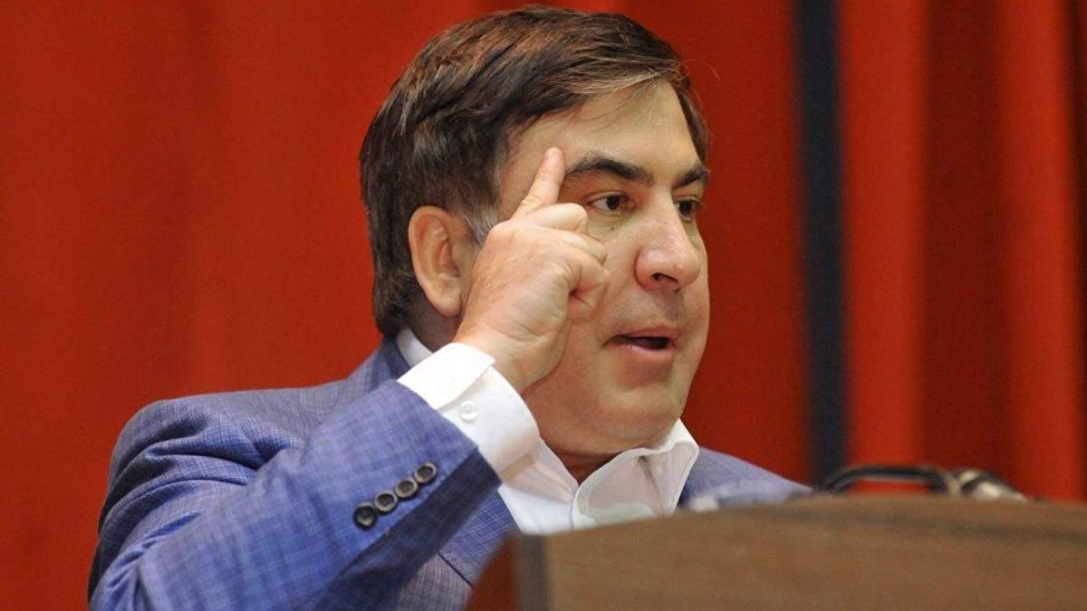 Саакашвили имеет запасной план, чтобы попасть в Украину