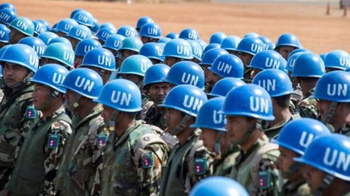Розміщення миротворців на Донбасі: Україна передала в Радбез ООН свій проект