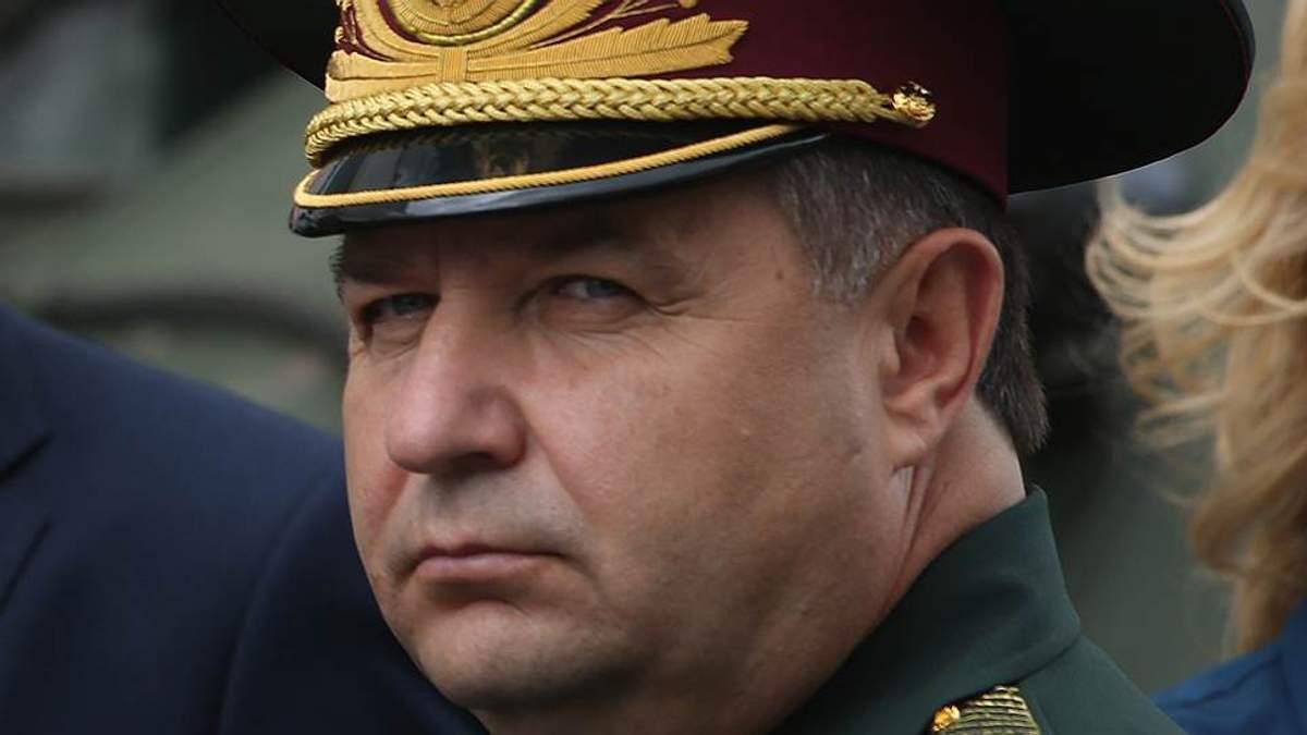 Полторак пообіцяв нові танки військовим