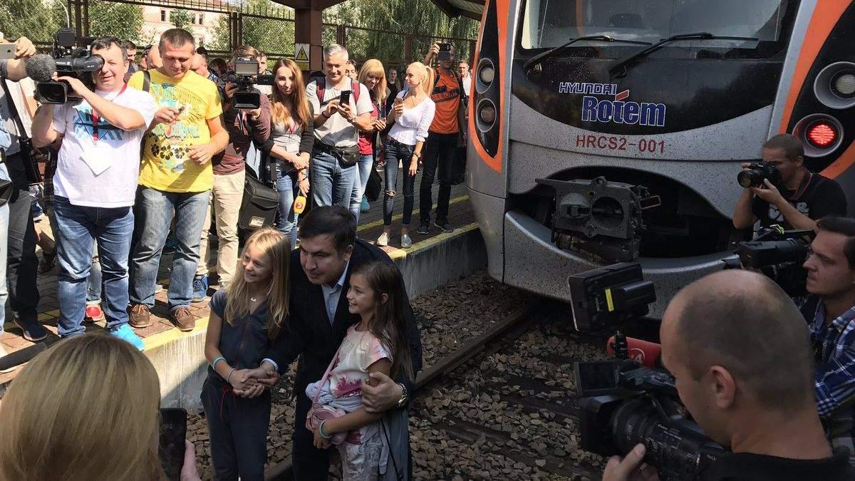 """Поезд """"Интерсити+"""" не уедет из Перемышля, пока его не покинет Саакашвили, – Фирсов"""