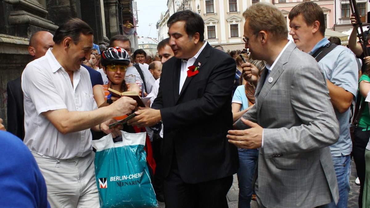 Саакашвили в Украине: что он будет делать дальше - Саакашвили