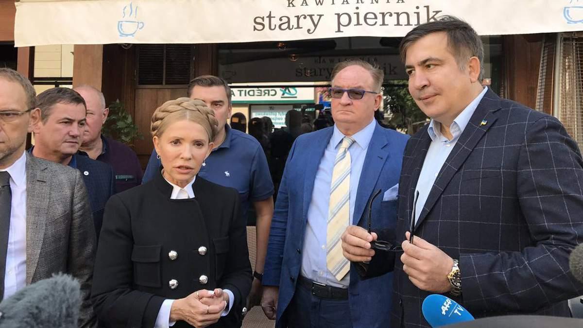 Прорив Саакашвілі: що означає  західний перетин кордону і як цим скористається Тимошенко?