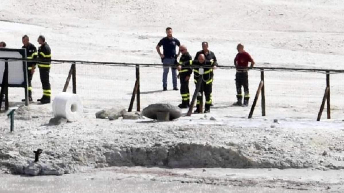 В кратер вулкана провалилась целая семья – все погибли