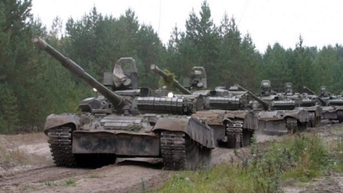 Біля Донецька знайшли 40 танків окупантів
