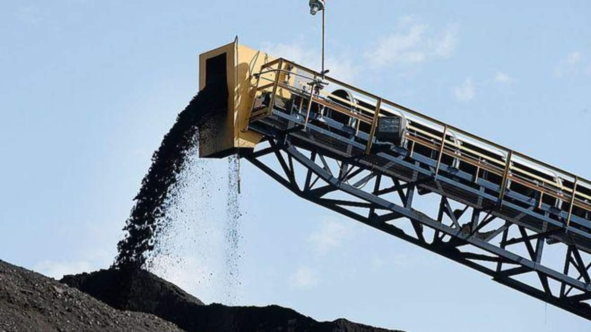 В Україну прибула перша партія вугілля зі США