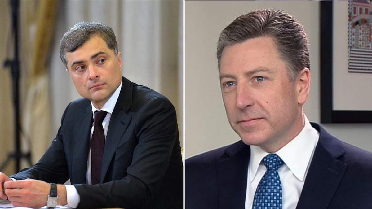Пока Украина наматывает сопли на кулак, Волкер и Сурков решают ее судьбу