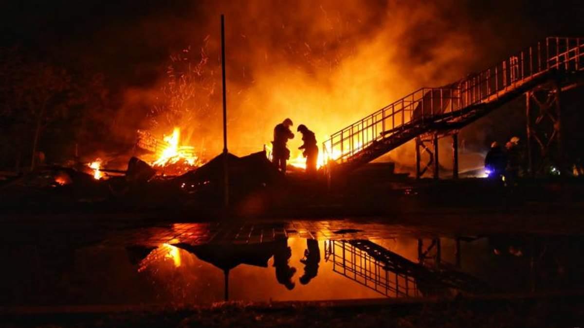 Пожежа сталась в дитячому таборі в Одесі