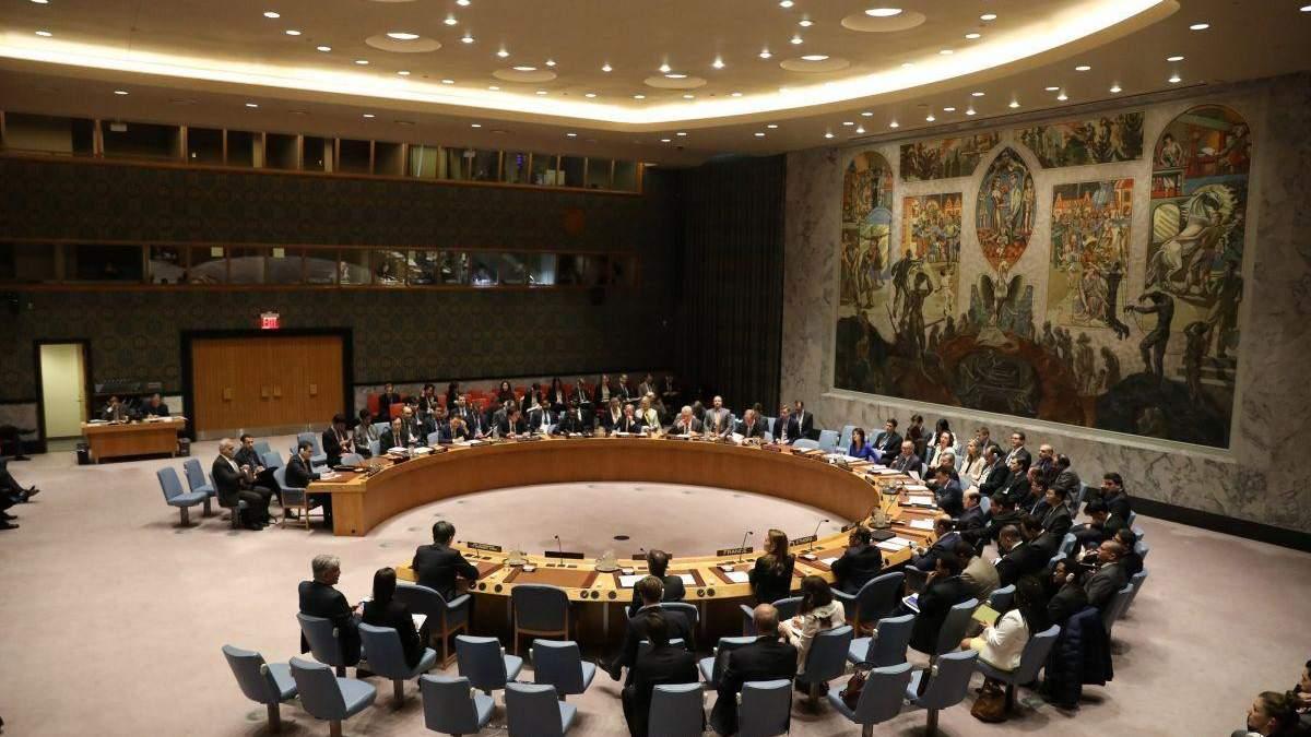 США скликають засідання Радбезу ООН