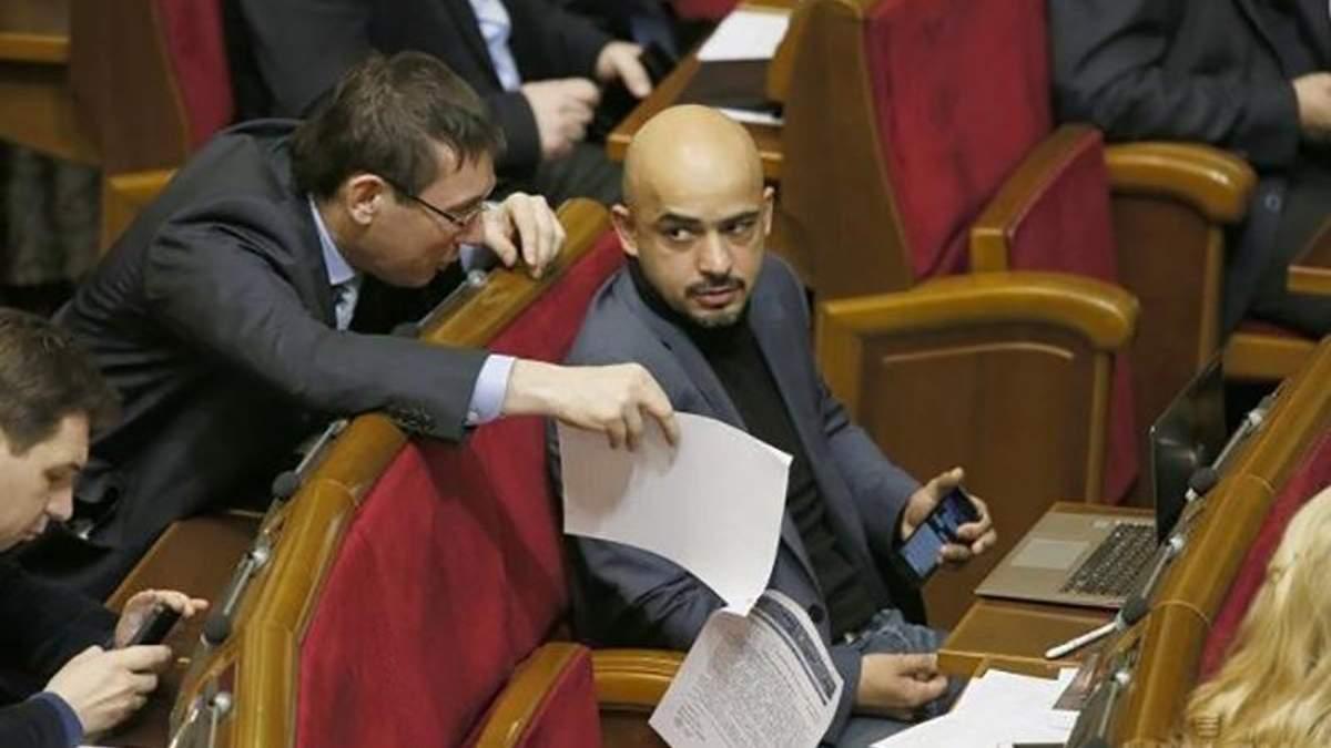 Чий Саакашвілі: Луценко та Найєм влаштували словесний бій щодо політика