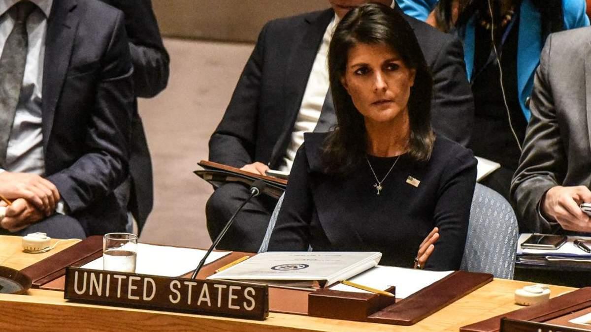 Постійна представниця США виступила з грізною заявою щодо Північної Кореї