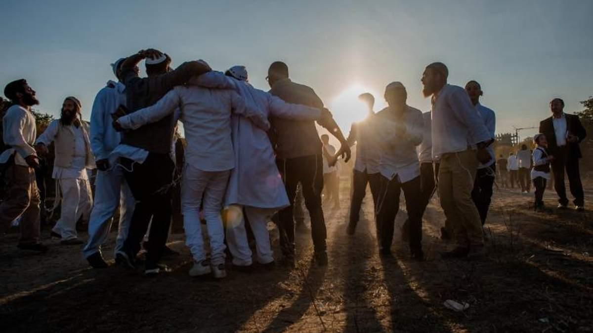 Еврейский новый год 2017: журналист показал зрелищное видео из Умани