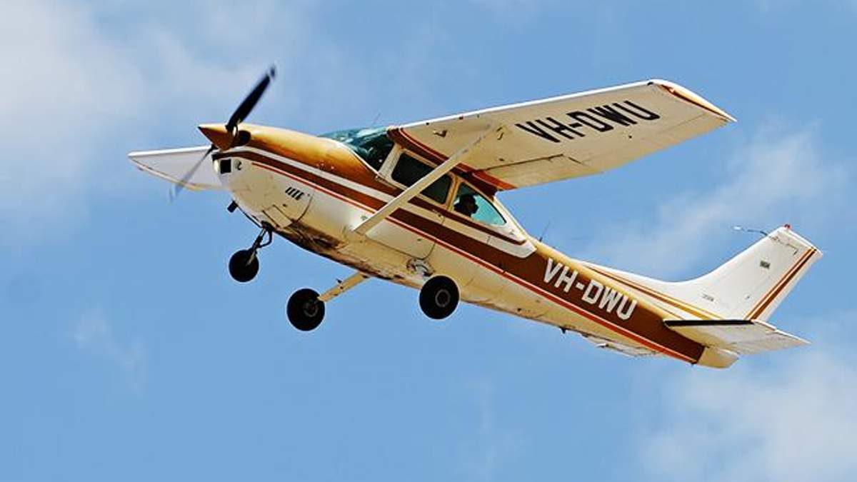 Легкомоторный самолет (фото иллюстративное)