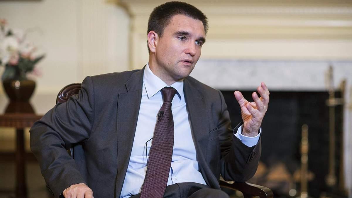 Клімкін розповів деталі отримання Україною сучасної зброї