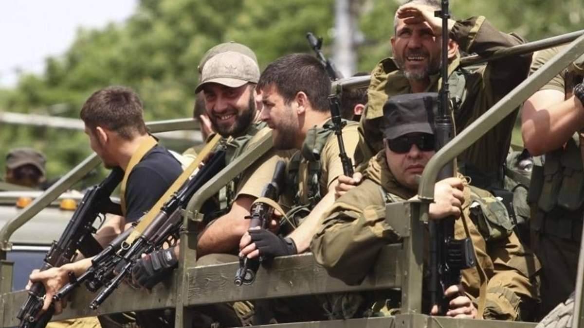 """Скільки """"кадирівських загонів"""" воює на Донбасі"""