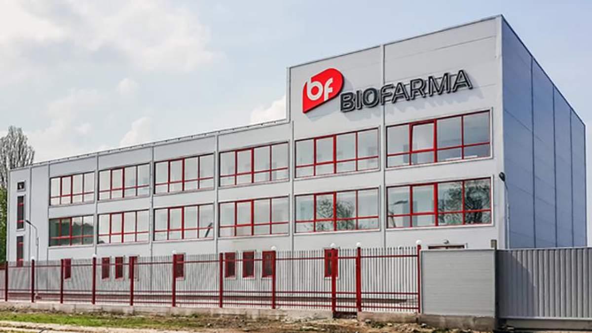 """Представники компанії """"Біофарма"""" прокоментували масштабну пожежу"""