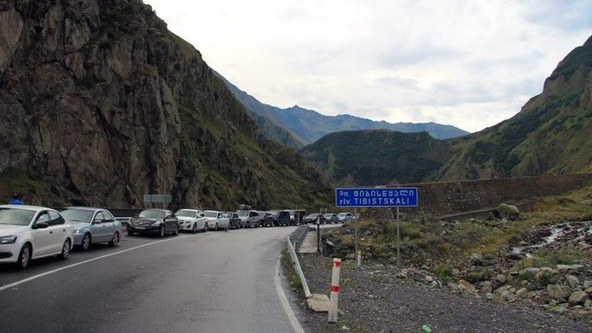 На грузинско-российской границе прогремел взрыв