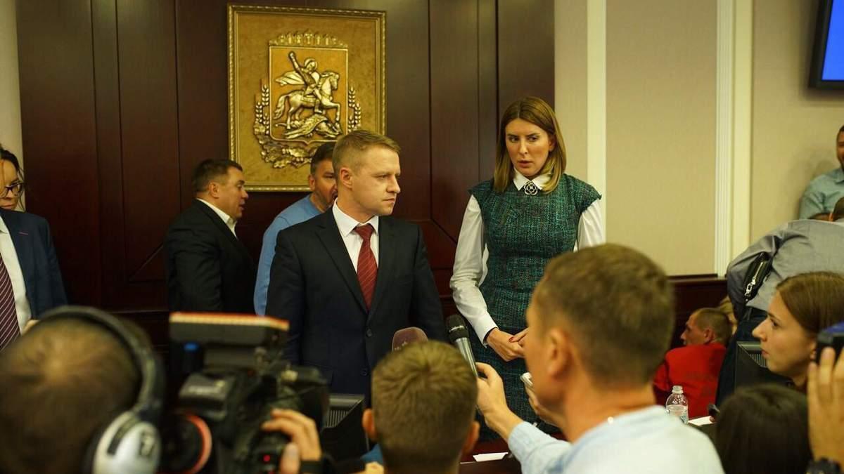 Губернатор Горган прокоментував зрив сесії Київської обласної ради