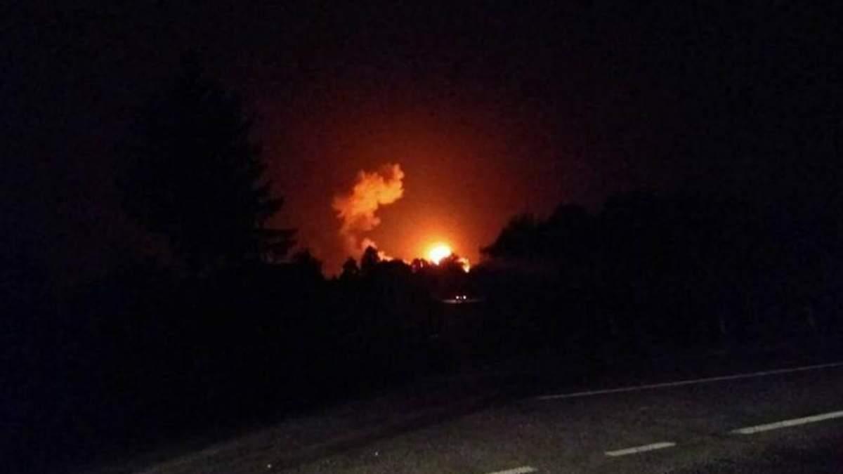 Вибухи в Калинівці: у ДСНС повідомили про кількість евакуйованих та травмованих