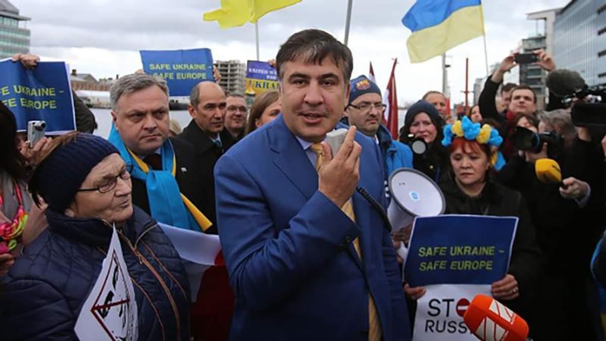 Саакашвили напомнил о словах, после которых его лишили гражданства