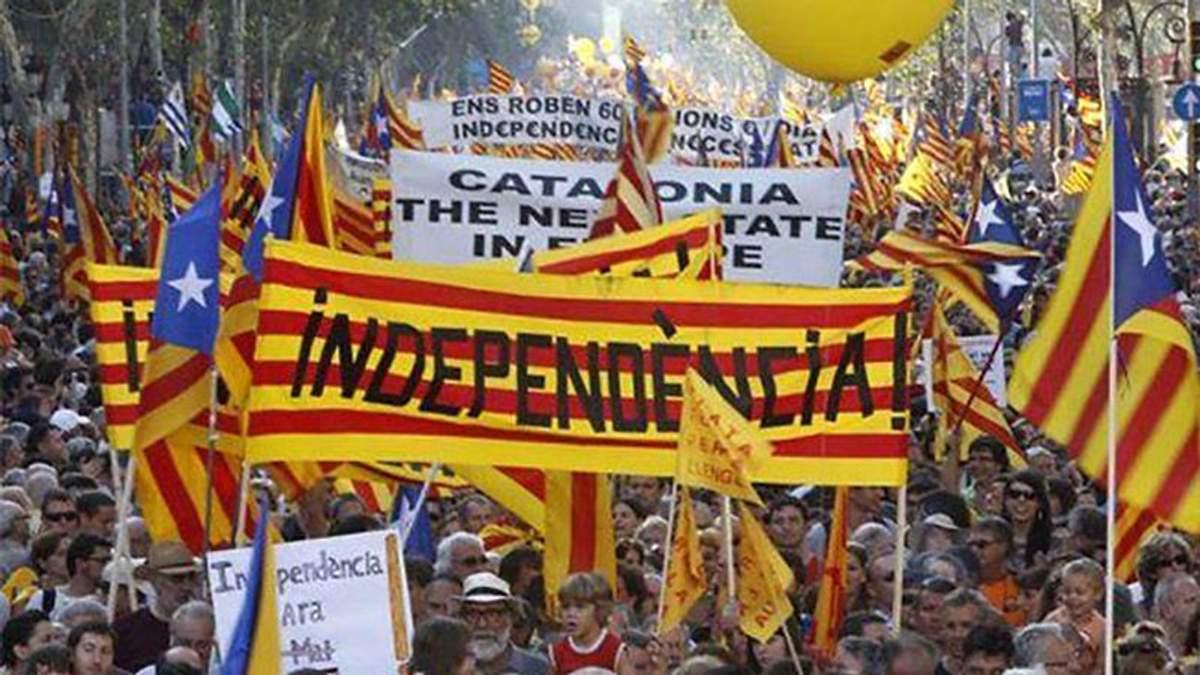 В Испании пытаются помешать проведению референдума о независимости