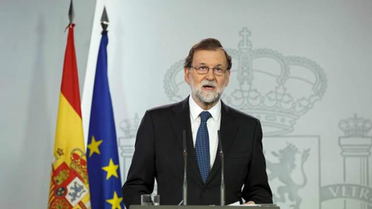 Референдум у Каталонії: прем'єр Іспанії зробив категоричну заяву