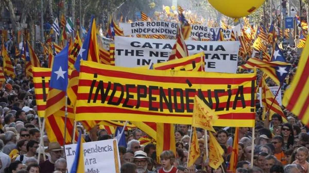 После референдума в Каталонии объявили всеобщую забастовку