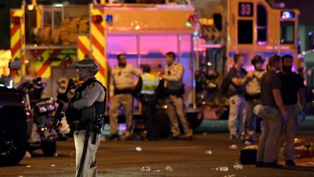 Стрельба в Лас-Вегасе: подозреваемый застрелил себя сам