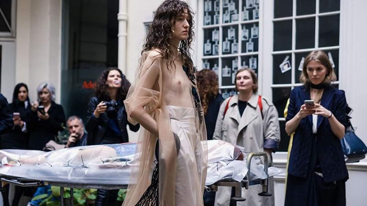 Українська дизайнерка вразила незвичайним шоу в рамках Тижня моди в Парижі   фото - Lifestyle 24 a9b172f72f1aa