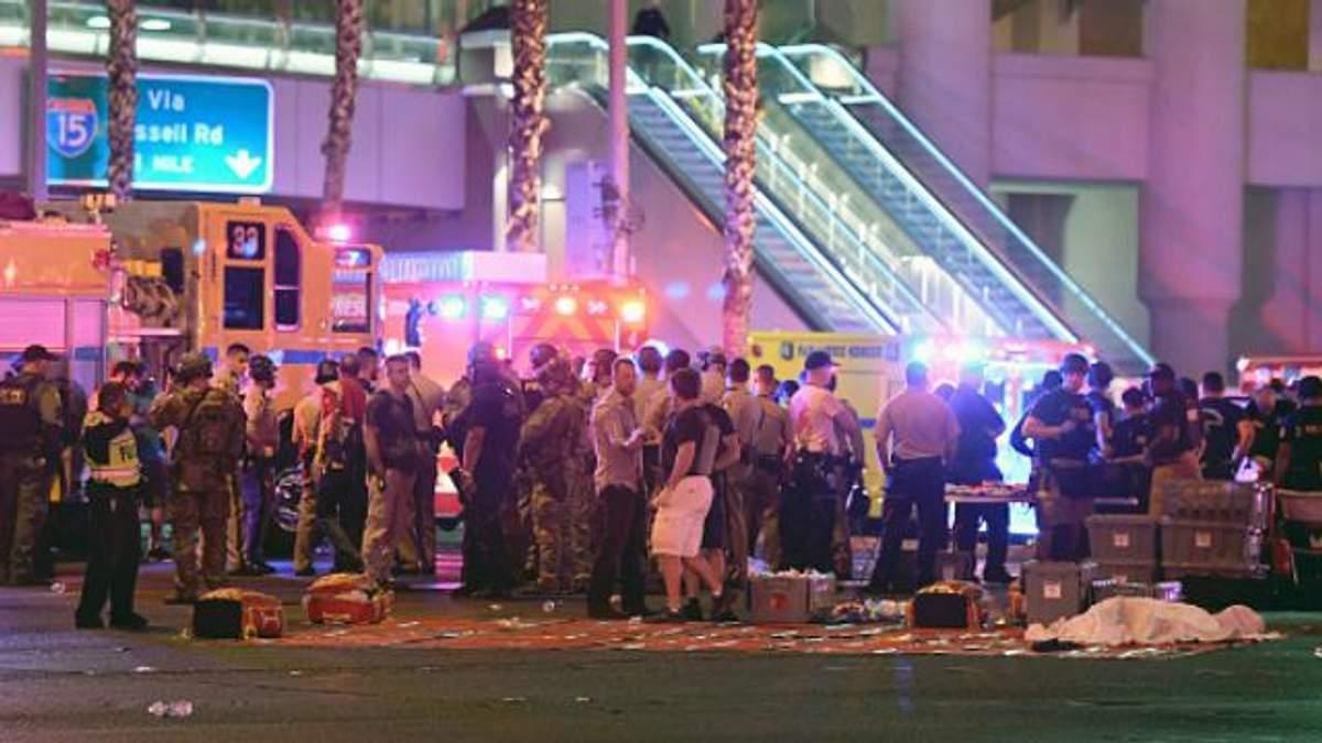 Стрельба в Лас-Вегасе: число жертв возросло до 58