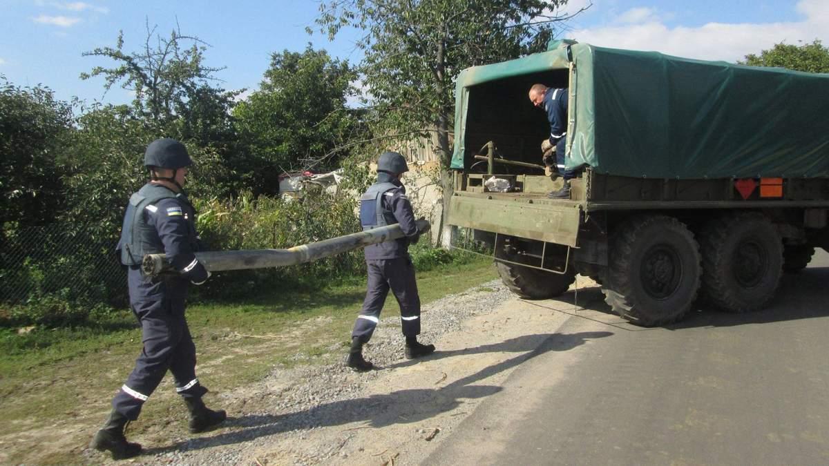 В Калиновке прекратились взрывы боеприпасов