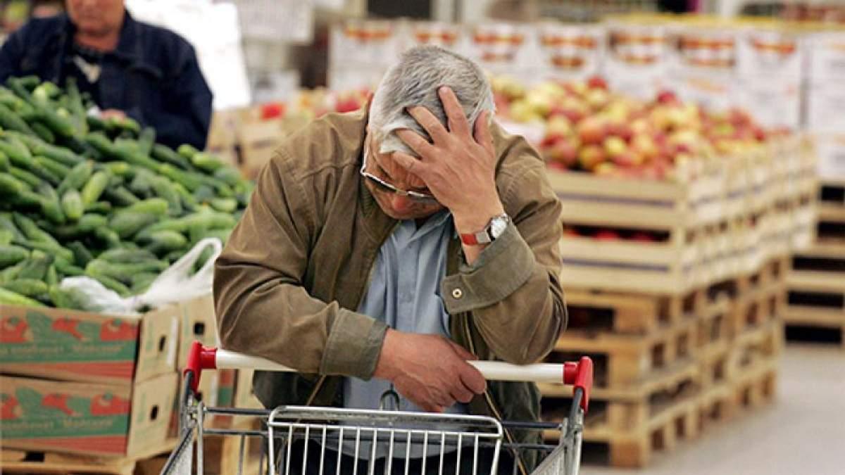 Через падіння курсу гривні в Україні стрімко ростуть ціни на продукти