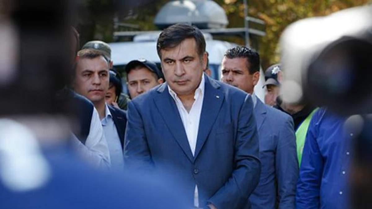 Саакашвили просит у Украины политического убежища