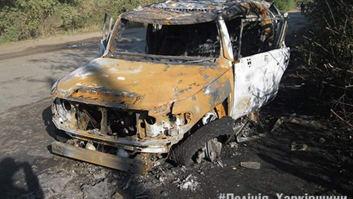 На Харьковщине неизвестные выстрелили из гранатомета по иномарке