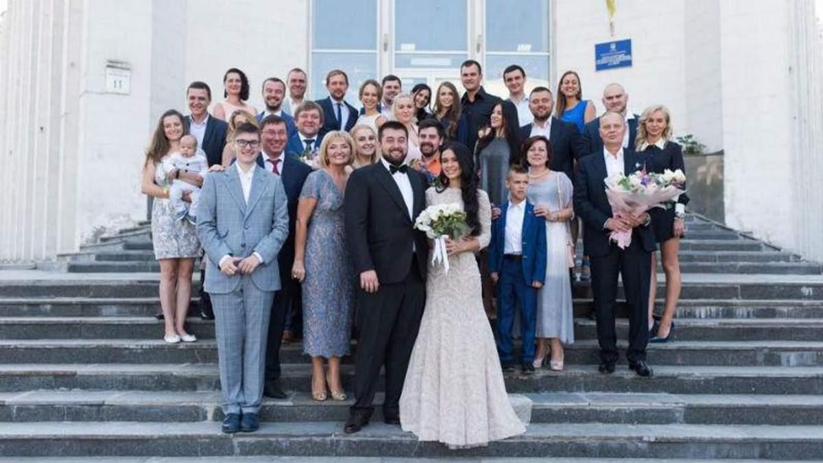 Скандал на свадьбе сына Луценко: накажут троих офицеров