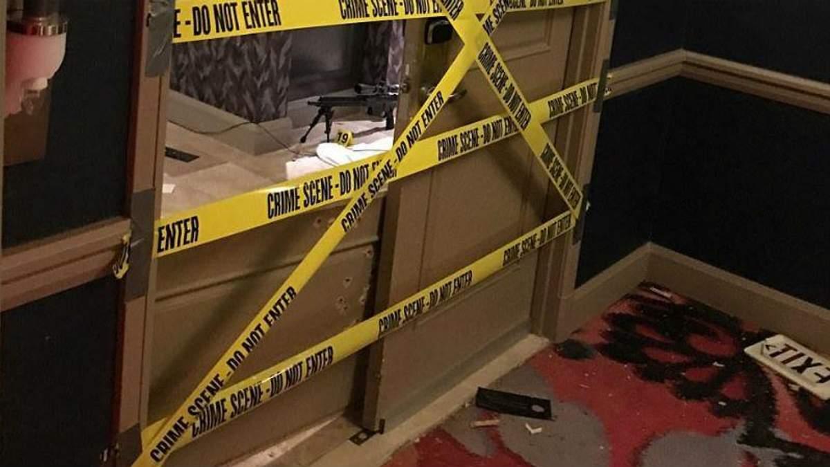 Стрілянина у Лас-Вегасі: з'явились фото з номера, де вчинив самогубство вбивця