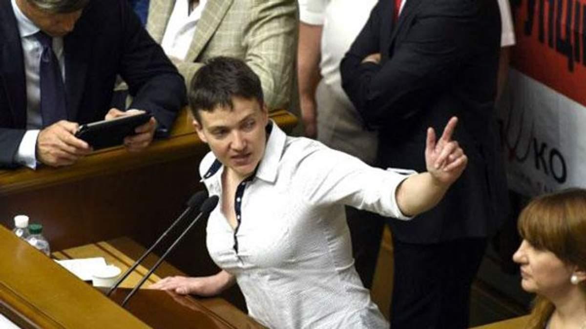 Савченко і Береза посварились на Комітеті нацбезпеки