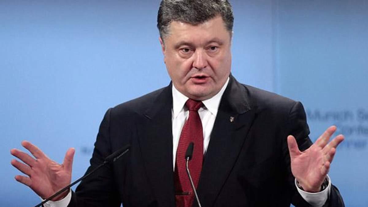 Порошенко закликав посилити санкції проти Росії