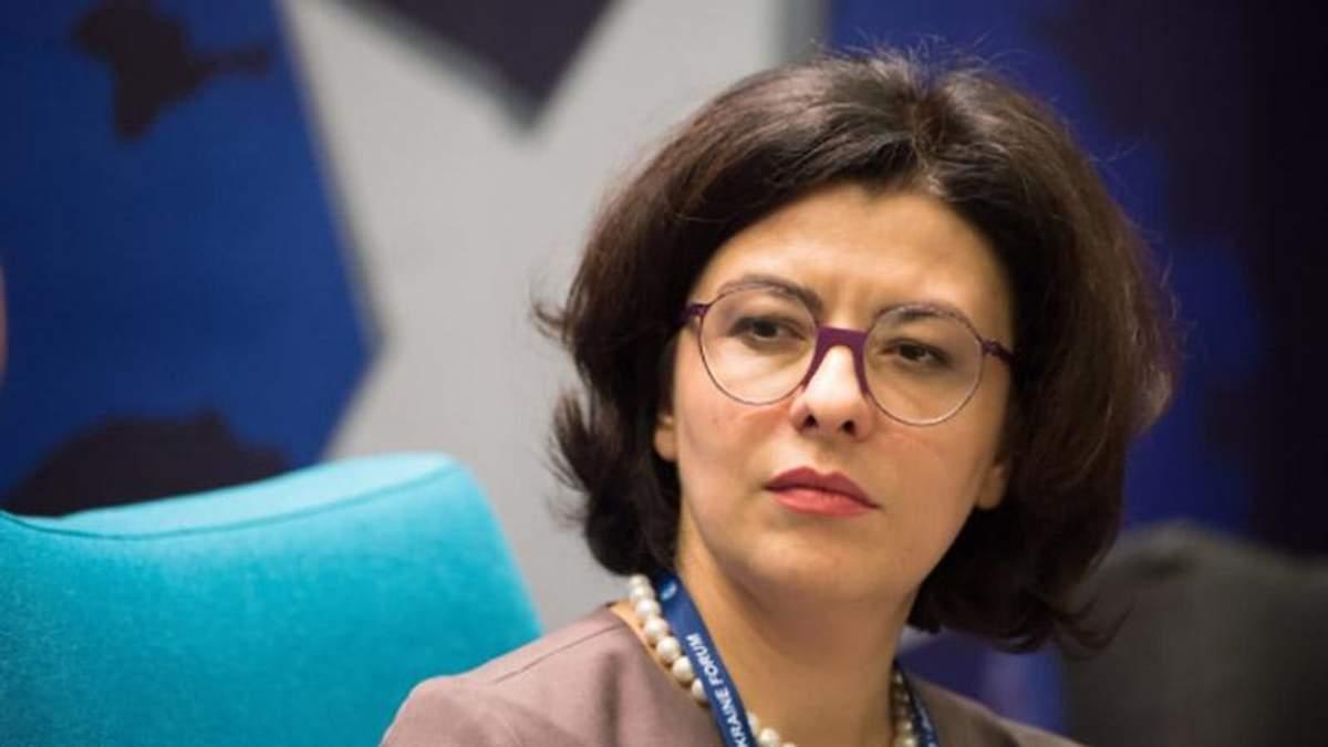 """Сыроид озвучила требования """"Самопомочи"""" для принятия закона о реинтеграции Донбасса"""