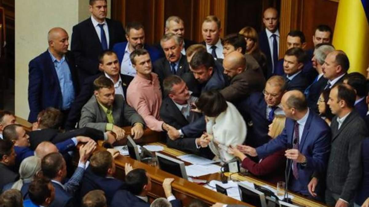 Верховна Рада продовжила термін дії особливого статусу Донбасу