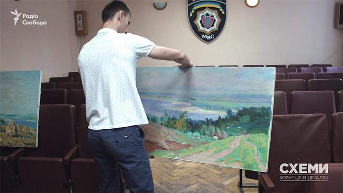 Крадіжка цінних картин у Кабміні: поліція відновила розслідування резонансної справи