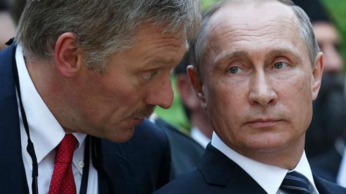 У Путина выразили недовольство законопроектом Украины о реинтеграции Донбасса