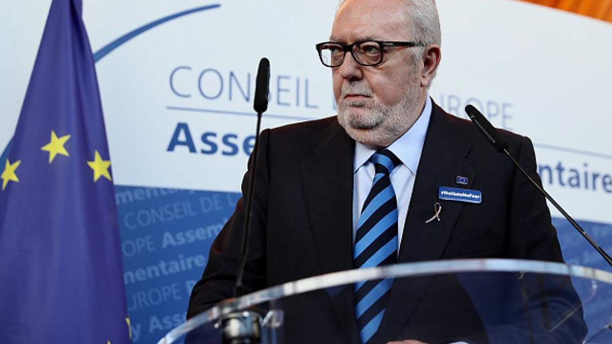 Президент ПАСЕ Аграмунт подал в отставку