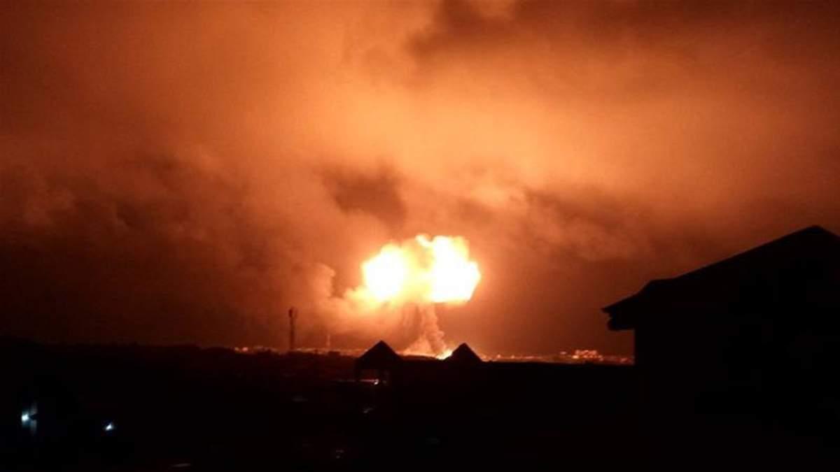 В Гане взорвалась газовая станция, есть жертвы